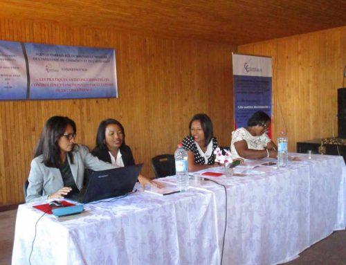 """Conférence sur """"les pratiques anticoncurrentielles et les concentrations contrôlées et sanctionnées par le Conseil de la Concurrence""""."""